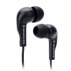 BSBESTE 800M Stylish In-Ear Earphone w/ Microphone for Iphone / Samsung / LG / Nokia - Black