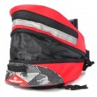 Cycling Bicycle Bike Fashion Saddle Seat Tail Bag - Red + Black
