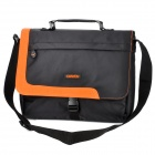 "Canyon NB15 Stylish One-Shoulder Messenger / Handbag for 12.1"" Laptop - Black + Orange"
