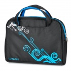 "Canyon NB22 Water Resistant PE Cotton Carrying & Shoulder Bag für 12,1 ""Laptop - Black + Blue"