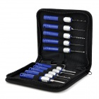 10-in-1 Kaba Civil Locksmith Set - Blue + Silver