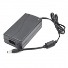 12V 4A AC / DC Power Adapter Charger for Security Camera / Scanner - Black (5.5 x 2.1mm)