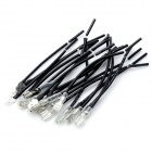 DIY 4.8mm Terminal Connection Cables - Black (2 x 10 PCS)