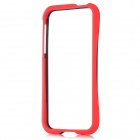 Protective PC Bumper Frame for Iphone 5 - Black + Red