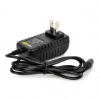 US Plug Power Adapter for Security Alarm - Black (100~240V)