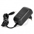LD-010 EU Plug Power Adapter for Security Alarm - Black (100~240V)