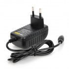 EU Plug Power Adapter for Security Alarm - Black (100~240V)