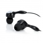 Sobu Stereo Headphones w/ Earphones - Black (3.5mm Plug)
