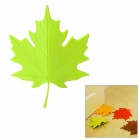 YSDX-382 Maple Leaf Stil EVA Türstopper - Green