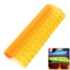 Buy DIY Frosted Flash -point Car Headlamp Light Sticker - Orange (1*100cm)