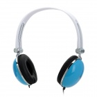 Feinier FE969 Stereo Headphones w/ Mic + Volume Control - Blue + Black (3.5mm Plug / 140cm-Cable)