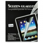 Protective Clear Screen Protector Guard Film w/ Cleaning Cloth for iPad Mini - Transparent