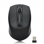 Newmen Nightingale 150 2.4GHz 1000CPI Wireless Optical Mouse - Black (1 x AA)