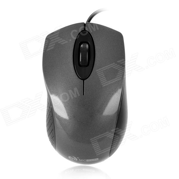 MC Saite MC-006 USB 2.0 2.4GHz 800/1000dpi Wired Optical Mouse - Dark Grey + Black (120cm-Cable) от DX.com INT