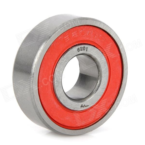CYT 6201RS Sealed Ball Bearing for Motorcycle - Red + Silver free shipping 30tm31anx 30x66x17 deep groove ball bearing 30tm31 superior quality