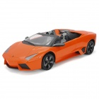Meizhi 2027 Maßstab 1:14 2-CH 27MHz Remote Controlled R / C Car Model Toy - Orange + Schwarz