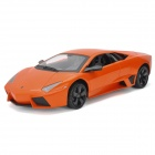 Meizhi 2028 Maßstab 1:14 2-CH 27MHz Remote Controlled R / C Car Model Toy - Orange + Schwarz