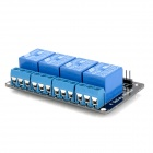 4-Channel 5V Relay Module - Black + Blue