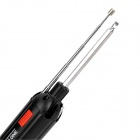 6-in-1 Multi-Functional Emergency Hammer Screwdrivers Set w/ Powerful Torch - Black + Red (2 x AAA)