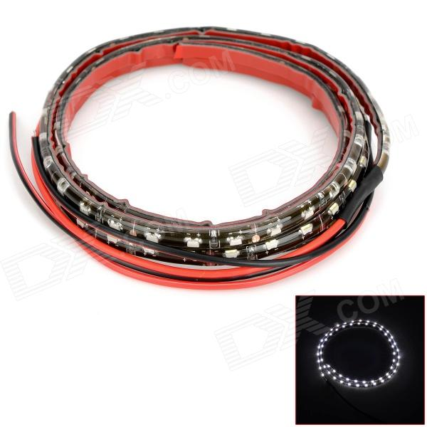 Highlight 3.6W 480lm 8000k 60-335 SMD LED Cool White Light Flexible Strip (DC 12V / 2 PCS / 60cm)