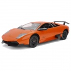 Meizhi 2020 Maßstab 1:10 2-CH 27MHz Remote Controlled R / C Car Model Toy - Orange + Schwarz