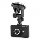 D6 2.7&quot; TFT Screen 1080p 140 Degree Wide Angle Portable Car Camcorder DVR w/ TF Slot / HDMI - Black