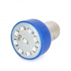 S25 1.5W 46lm 9-SMD 3528 LED Blue Flashing Light Motorcycle Brake Lamp (12V)