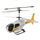Udi U9 Rechargeable 3.5-CH 2.4GHz Radio Control R/C Helicopter with Gyro - Yellow + White