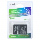 ISMARTDIGI W126 Replacement 7.4V 950mAh Battery for Fujifilm FinePix X-Pro 1 / HS30EXR - Black