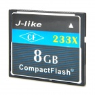 J-как CF233X CompactFlash CF Memory Card (8GB)