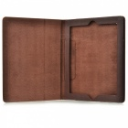 Rotatable Folding Design Protective PU Leather Cover Case for Ipad 2 / New Ipad