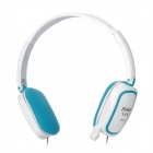 Feinier FE80 Stereo Headphones w/ Microphone - White (3.5mm Plug)