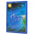 Zodiac Sign Style DIY Luminescent Paper Puzzle - Cancer (1000 PCS)