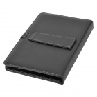 Protective 83-Key USB Wired Keyboard PU Leather Case w/ Stand / Stylus for 10.1'' Tablet - Black