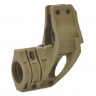 Nylon Resin Flashlight Mount Holder for AR15 / M16 / M4 - Khaki Grey (18~28mm Diameter)