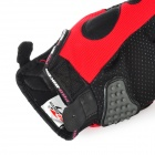 PRO-BIKER MCS-03 Motorcycle Racing Full-Finger Warm Gloves - Red + Black + Grey(Size XL / Pair)