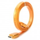 24K Gold-Plated 1080P V1.4 HDMI Male to Male Connection Cable - Orange (150cm)