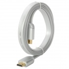 24K Gold-Plated 1080P V1.4 HDMI Male to Male Connection Cable - Silver (150cm)