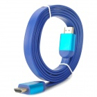24K Gold-Plated 1080P V1.4 HDMI Male to Male Connection Cable - Blue (150cm)