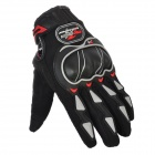 PRO-BIKER MCS-03 Motorcycle Racing Full-Finger Warm Gloves - Black + Grey(Size L / Pair)