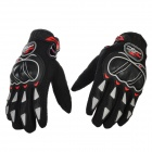 PRO-BIKER MCS-03 Motorcycle Racing Full-Finger Warm Gloves - Black + Grey(Size M / Pair)