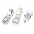 Lightning + 30 Pin Car Charging Set