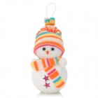 Christmas Cute Bunte Schneemann-Dekoration