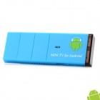 Jesurun J18 Android 4.0 Google TV Player ж / Wi-Fi / 1 Гб RAM / ROM 4 Гб / HDMI / AV - Blue