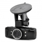 "C500 1.5"" LCD HD 1080P 5.0MP Wide Angle Lens Car Camcorder w/ HDMI / GPS / G-Sensor - Black"