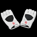 WOLONG MMA Fighting / Boxeo PU Guantes de cuero - Blanco (Par)