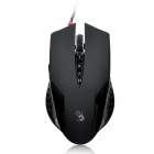 Bloody V5 800 / 1000 / 1600 / 2000 / 3200dpi USB 2.0 Game Optical Mouse - Black (175cm-Cable)