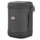 600D Waterproof Fabrics + 210D Polyester Camera Bag for 70~300mm 1:4~5.6D Lens Camera - Black