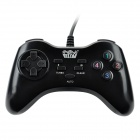 Welcom WE-805S USB 2.0 Kabel PC Spiel Joypad Controller - Black + Red (145cm-Kabel)