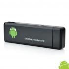 Mini Android 4.0 Google TV Player w/ Wi-Fi / 1GB RAM / 4GB ROM / HDMI - Black